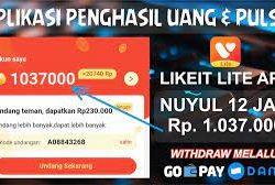 LIKEit Lite Aplikasi Viral Terbaru Penghasil Uang
