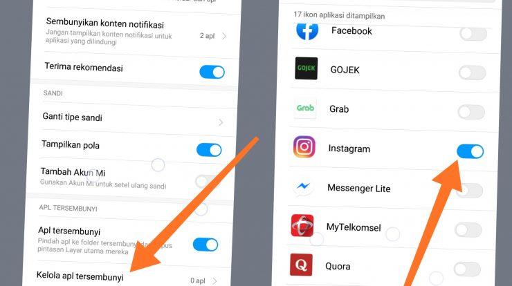 Cara Paling Mudah Menyembunyikan Aplikasi Di Hp Xiaomi