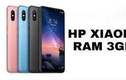 Deretan HP Xiaomi RAM 3 GB Dan Harga Yang Murah